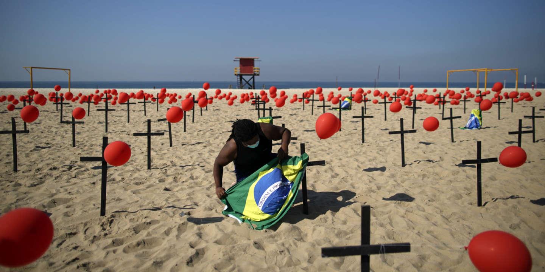 Le coronavirus a tué plus de 100000 personnes au Brésil