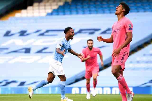 Ligue des champions: Raphaël Varane, une nuit en enfer contre City - Foot - C1 - Real