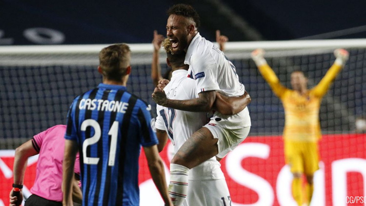 Match: PSG / Atalanta (2-1), performances individuelles